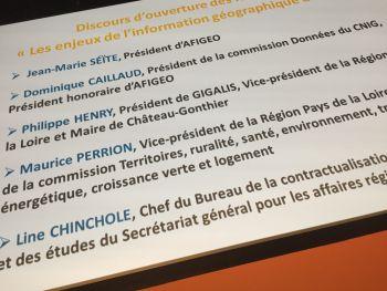 Succès des Rencontres des dynamiques régionales en information géographique !